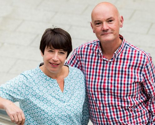 Portraits of Quick HR team. Pictured: Brian Warren and Melissa Mills October 2016 Contact: 0797 3677 017 / 01273 275162 www.vervate.com