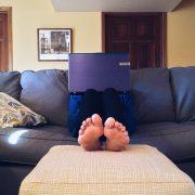 Home office feet